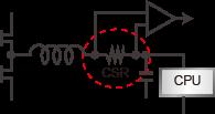 CPU驱动电流控制电路