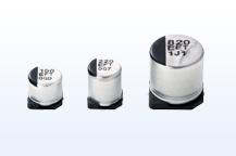 一张照片:铝电解电容器(表面贴装型)